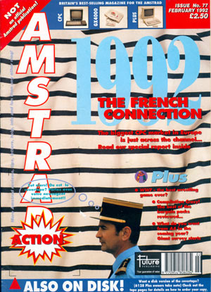 Amstrad Action 77